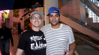 w/ Heem's from Das Racist at the Rock and Roll Hall of Fame