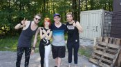 w/ Paramore at Warped Tour 2011